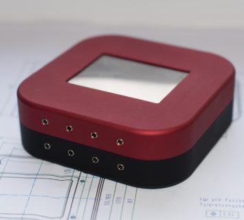 WT Mini Aluminium Prototyp (rot/schwarz)